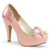 BETTIE - 20 Taupe/Pink Faux Leather